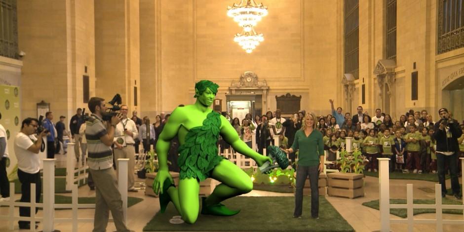 Geant vert evenement realite augmentee