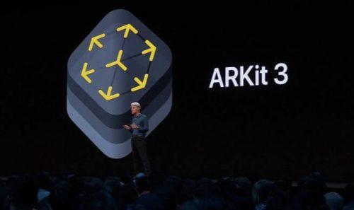 Des nouveautés en réalité augmentée chez Apple avec ARKit 3